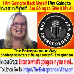 634: I Am Going to Back Myself I Am Going to Invest in Myself I Am Going to Give It My All with Nicola Grace Founder and Owner of the Mission Mentor Australia