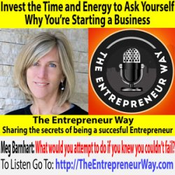 699: Invest the Time and Energy to Ask Yourself Why You're Starting a Business with Meg Barnhart Founder and Co-owner of the Zen of Slow Cooking