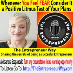 752: Whenever You Feel Fear Consider It a Positive Litmus Test of Your Plans with Aleksandra Scepanovic Co-founder and Co-owner of Ideal Properties Group LLC