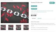 Diamond Tila Bracelet