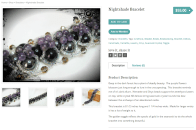 Nightshade Bracelet