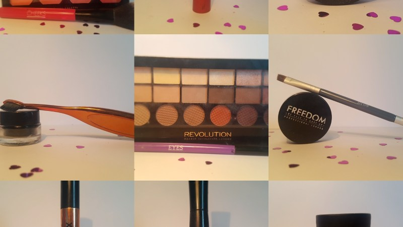 My every day make up.