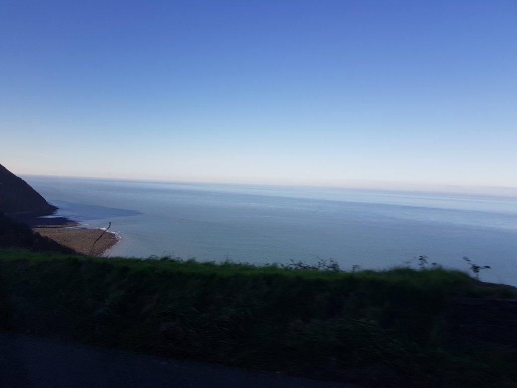 The en route scenery