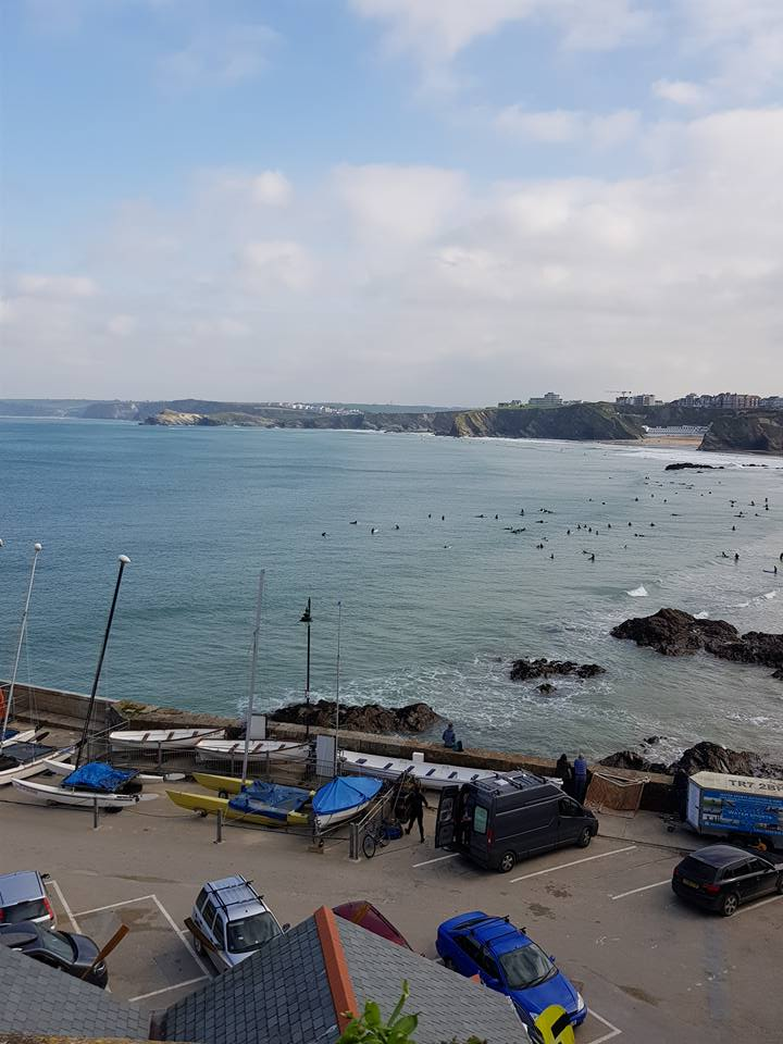 Newquay beach views