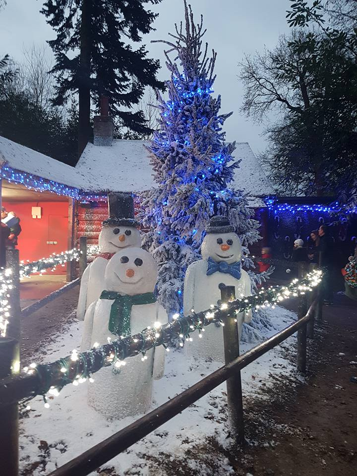 Longleat Santa Train. Days out in the south west