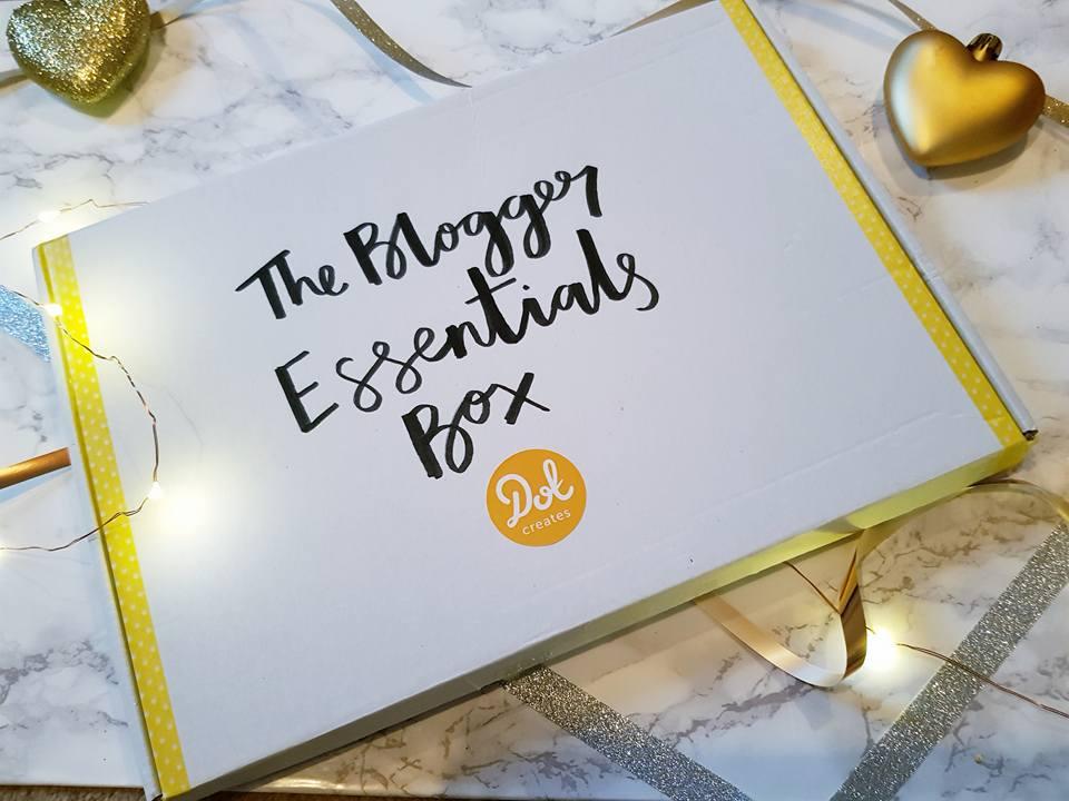 The bloggers essentials box