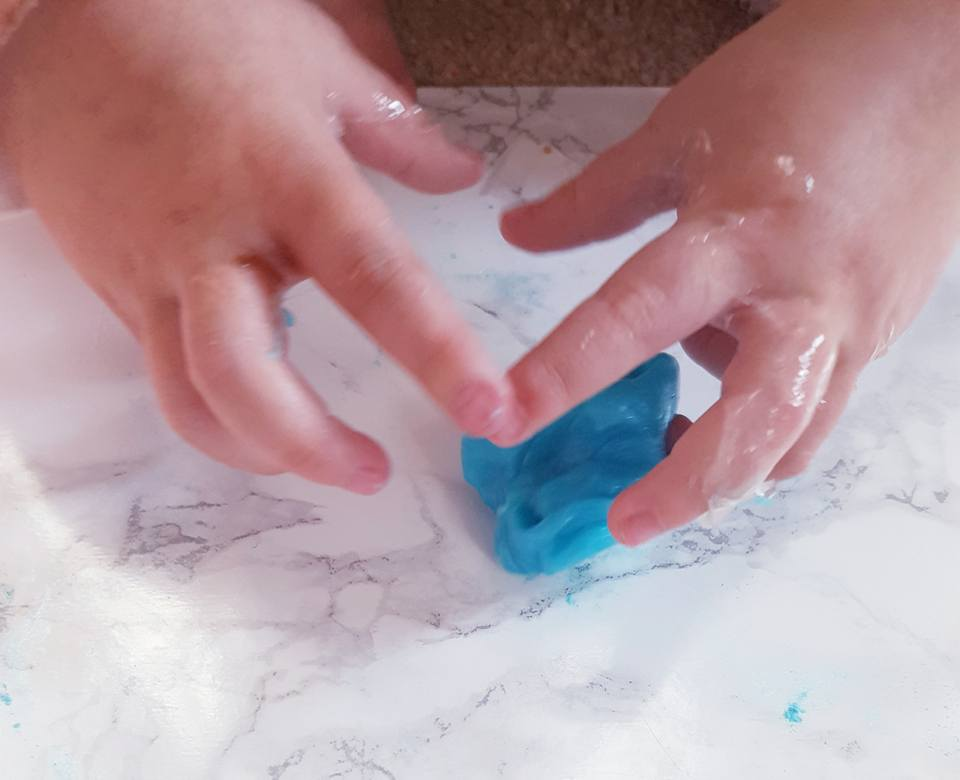 Combining glam and Slime with Glam Goo!