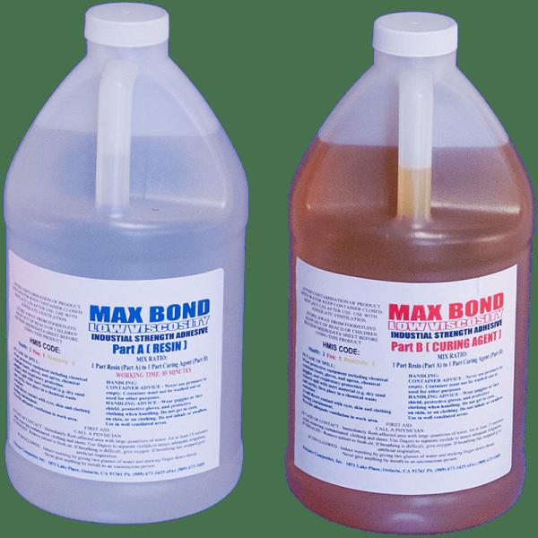 Best Two Part Epoxy : Max bond low viscosity gallon epoxy fiberglassing