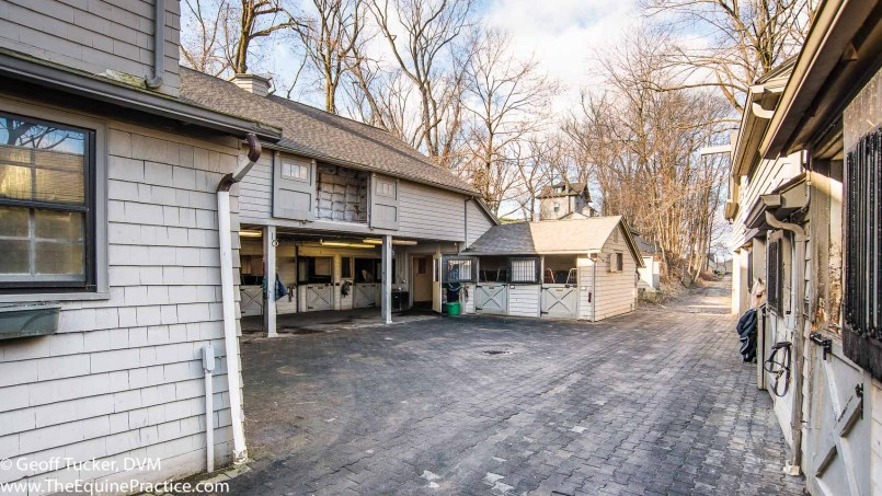 """The """"Pony Barn"""" in Bedford Hills, NY where I worked and met my wife in 1976.  This is the exact spot where I first saw Kathy."""