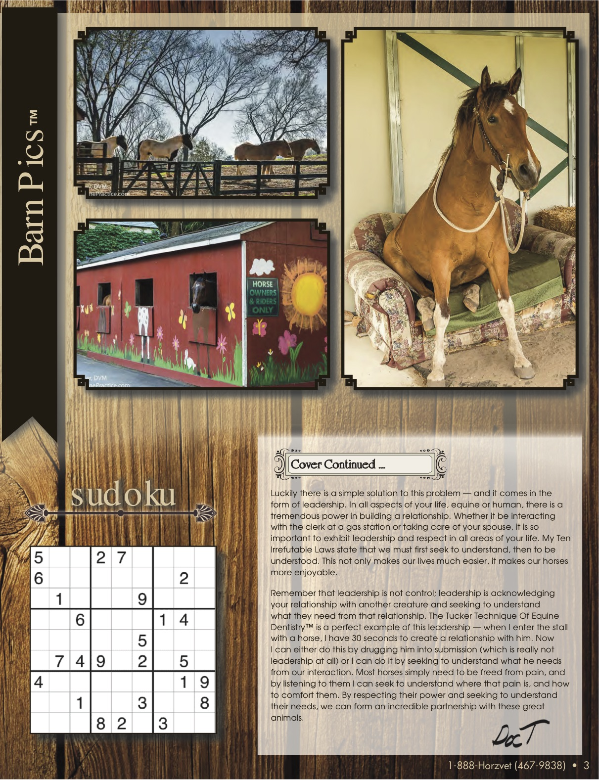 The Equine Practice Rounds™ September 2015 page 3 of 4