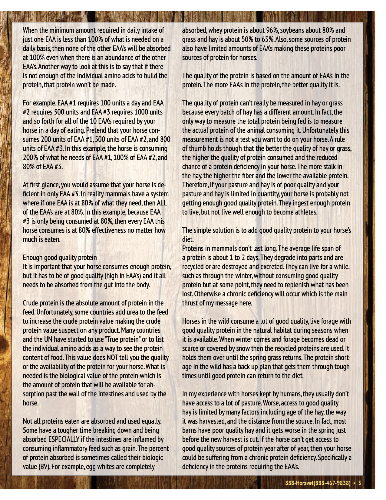 The Equine Practice Rounds™ Vol 1 Issue 3 page 3 of 4