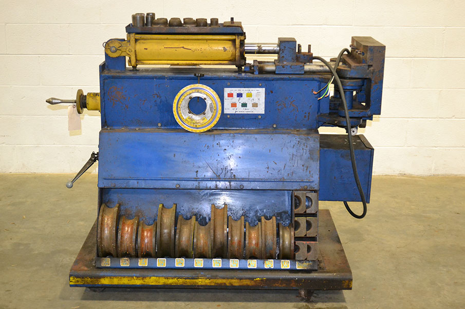 ben pearson tx27 3 hydraulic exhaust pipe tube bender w tooling