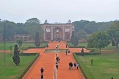 Grand Entrance to the Humayun's Tomb (New Delhi, India)