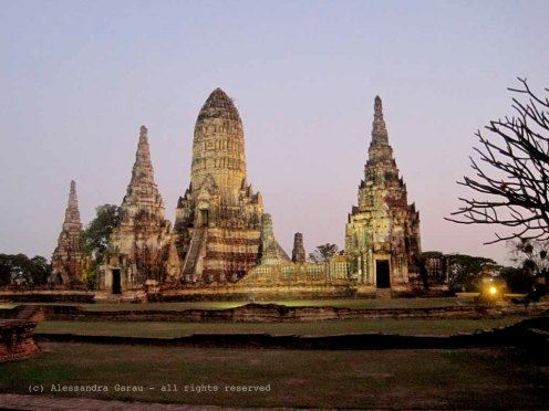Ayuttaya by night