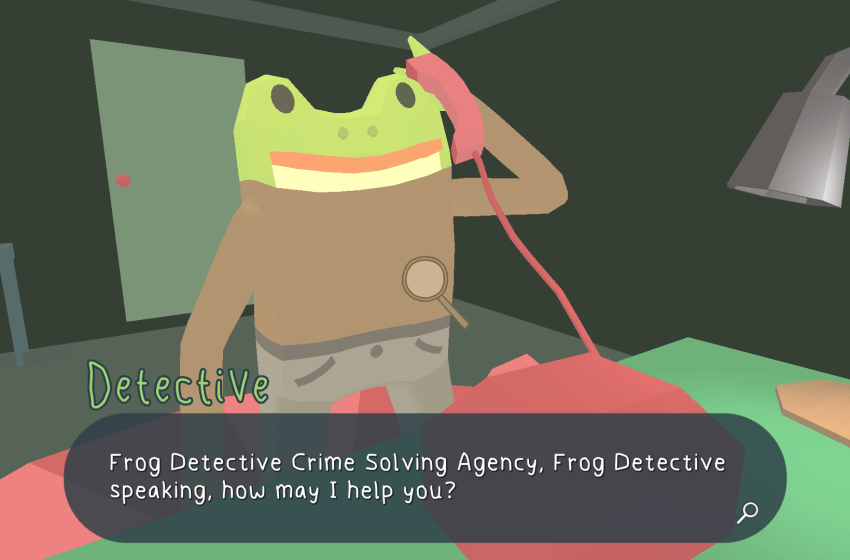 Frog Detective: The Haunted Island
