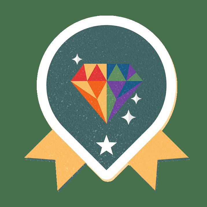 The Escape Roomer Badge Visual Award