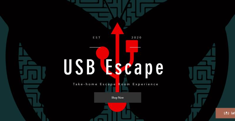USB Escape Poster