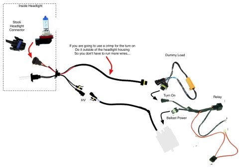 small resolution of and relayharness hid pwm issue diy fix for bow bulb out warning volvo s40 cem wiring diagram