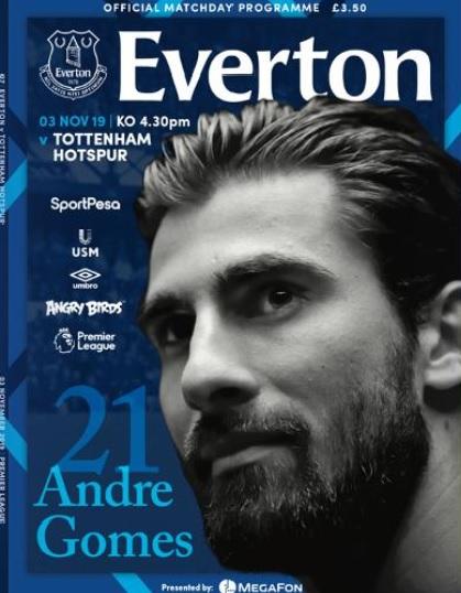everton programme