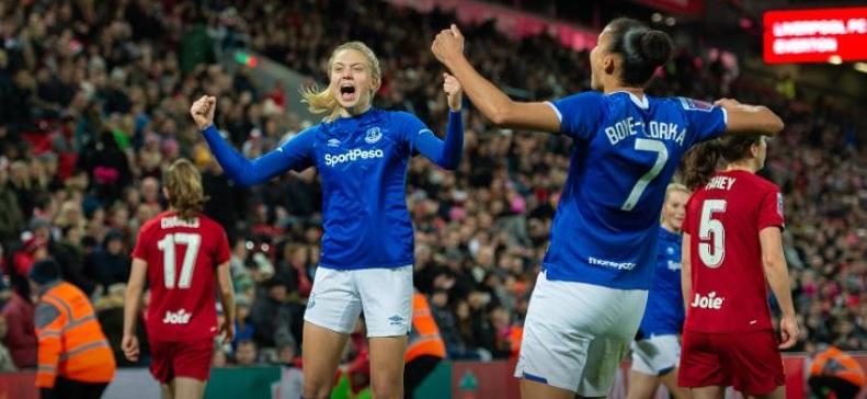 everton women derby win