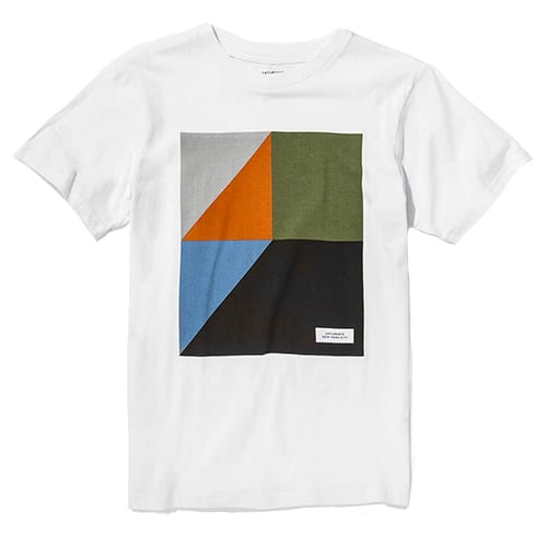 TANGRAM TEE: SATURDAYS NYC, $40