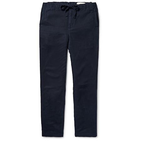 LINEN & TENCEL PANTS: OUTERKNOWN, $175