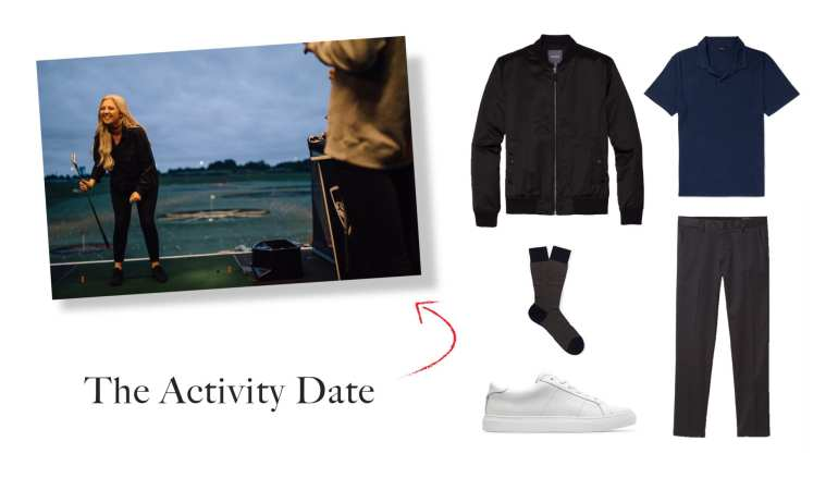 Activity Date Outfit Idea for Men