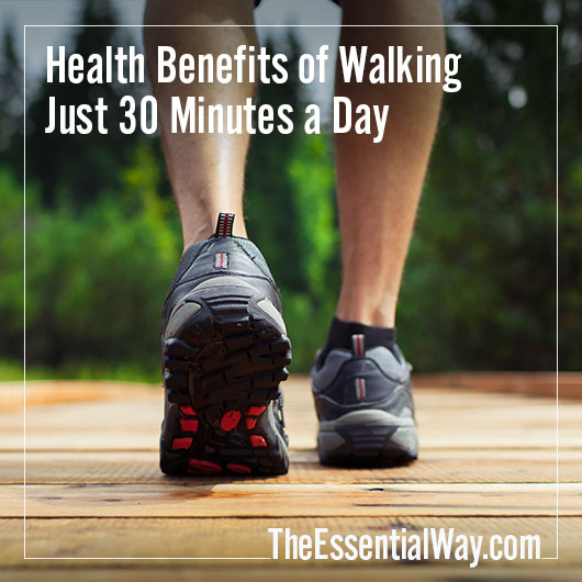 Health Benefits of Walking 30 Minutes a Day