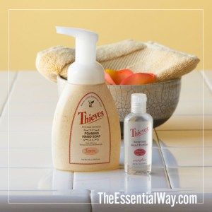 Thieves Handsoap and Waterless Hand Purifier