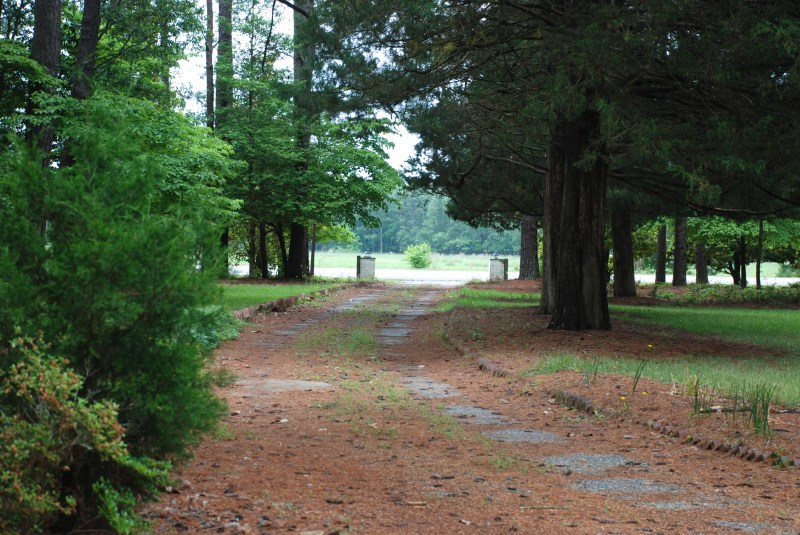 camp easter driveway