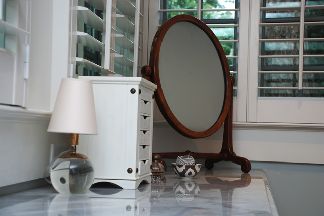 retreat vanity mirror
