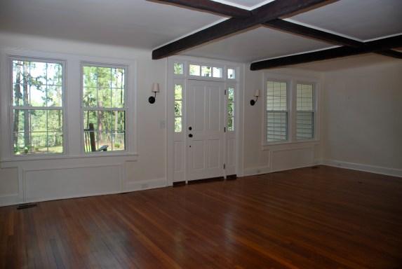 sarah house living empty