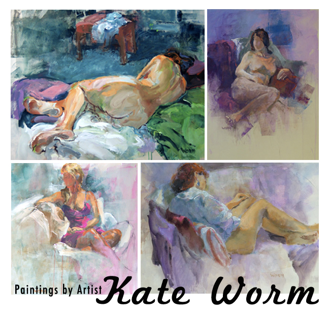 Kate Worm Paintings