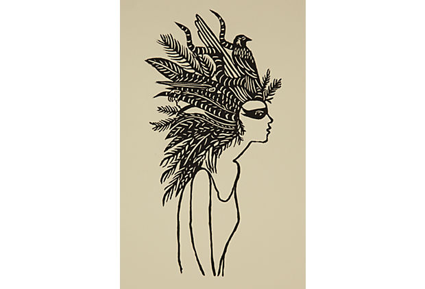 art bird hair