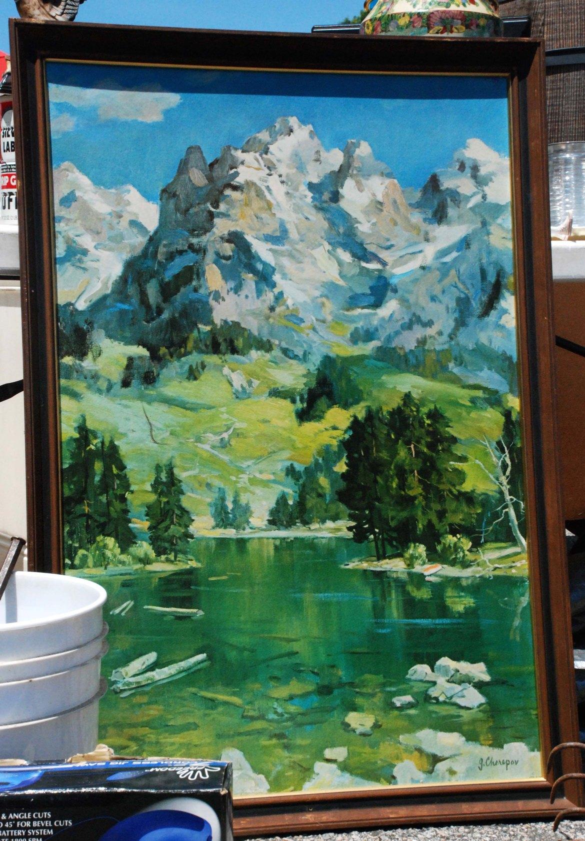 flea mountain painting