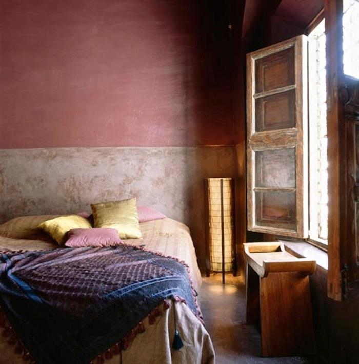 Dusty Rose Blush Pink Walls