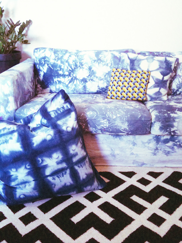 A Tie Dye Sofa?