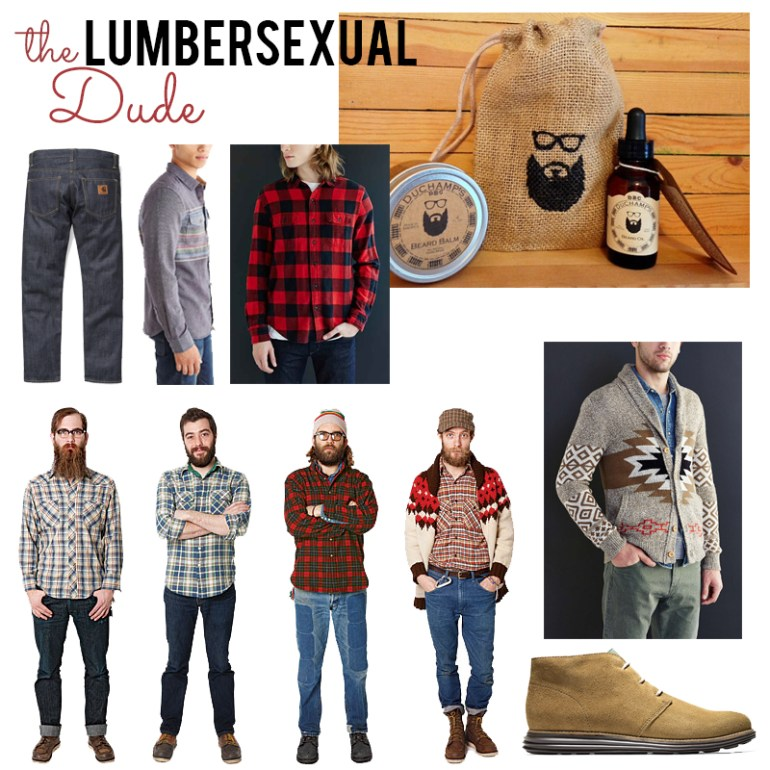 lumbersexual trend by the estate of things