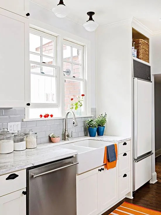 mixing kitchen cabinet colors white appliances on a comeback the estate of things 7547