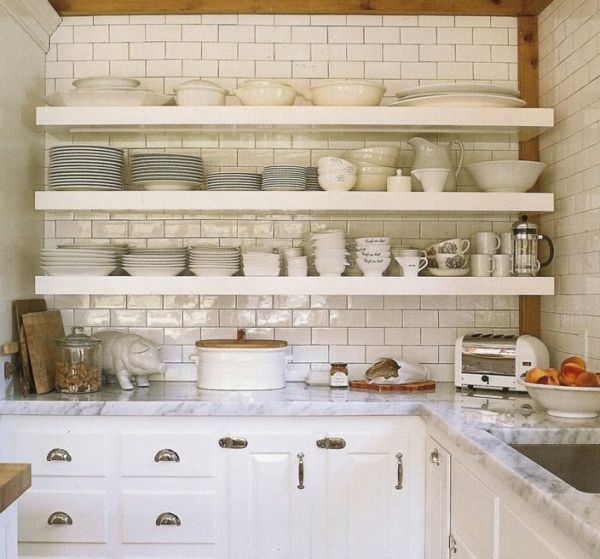 Open Shelving In The Kitchen: Styling Open Shelves In The Kitchen