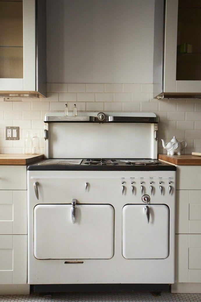 Attractive White Appliance Range