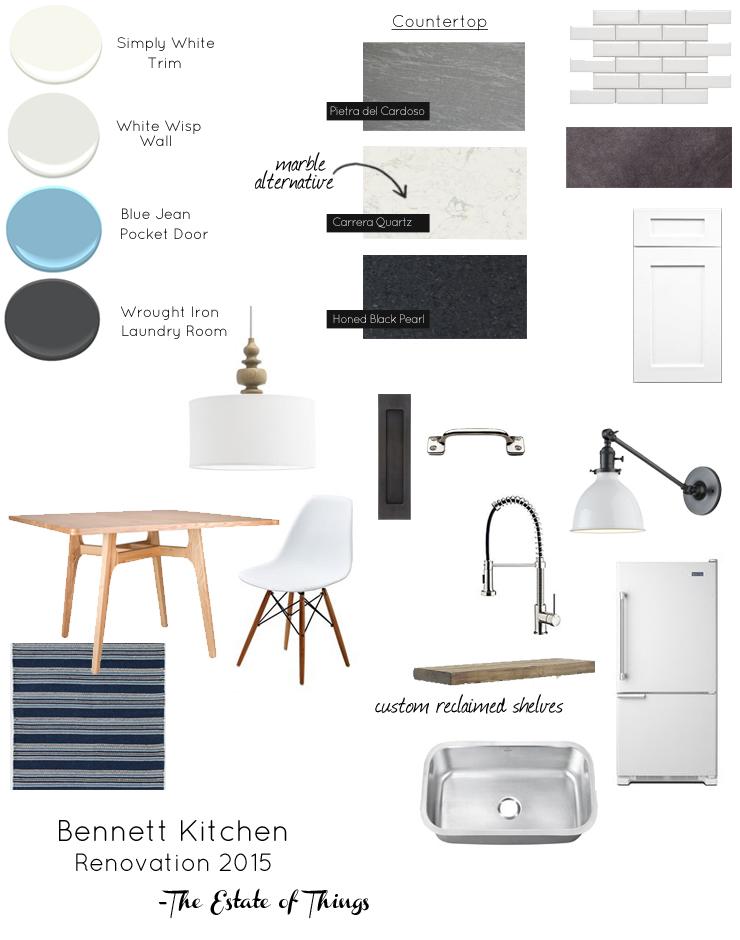 Bennett kitchen plan