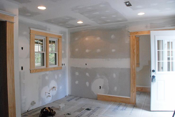 bennett kitchen progress