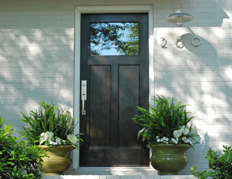 Split Foyer Door : Before and after split level remodel