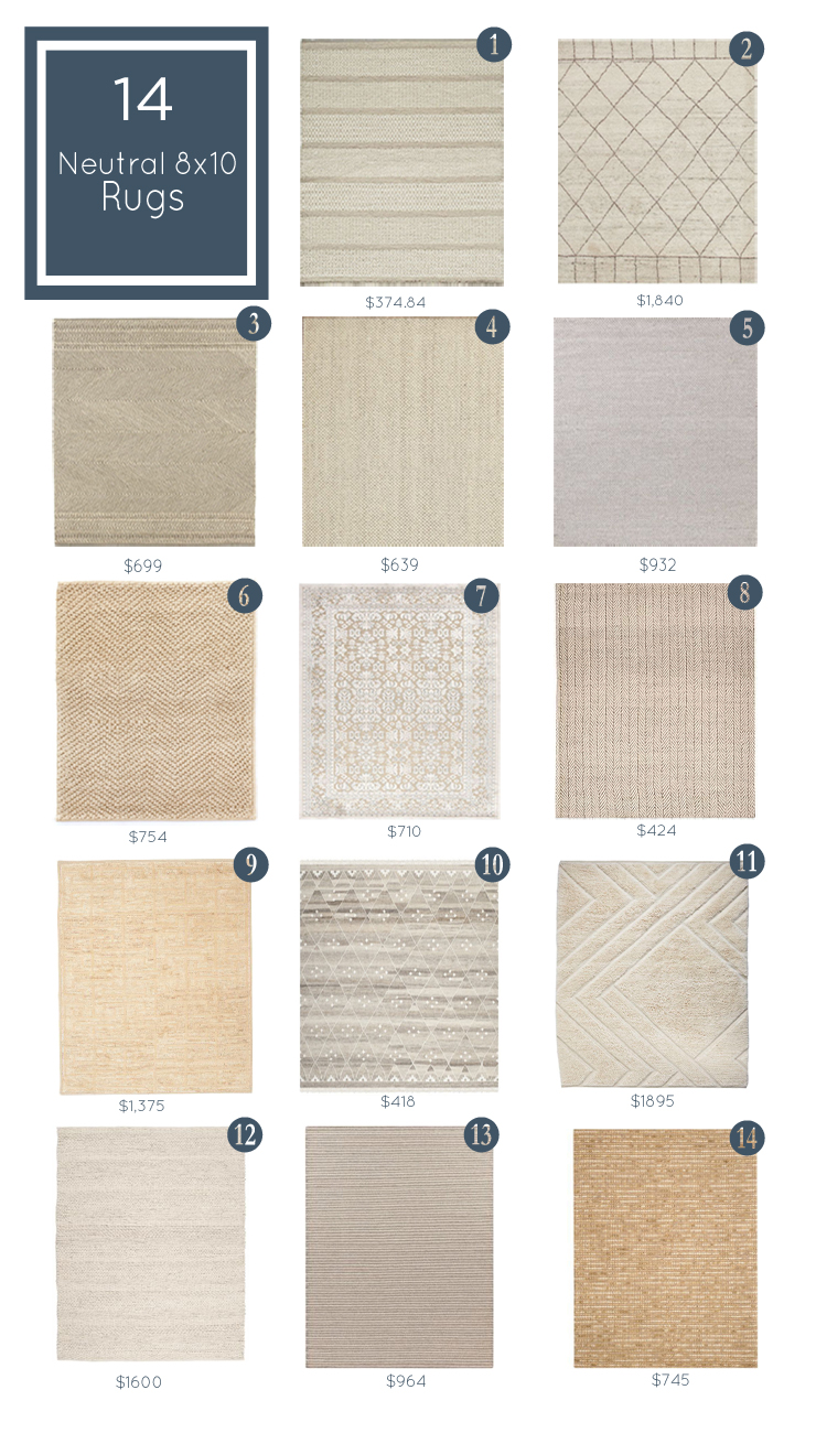 Neutral Rug Roundup