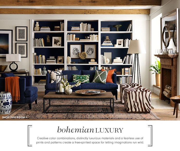 Bohemian Luxury by Williams Sonoma Home