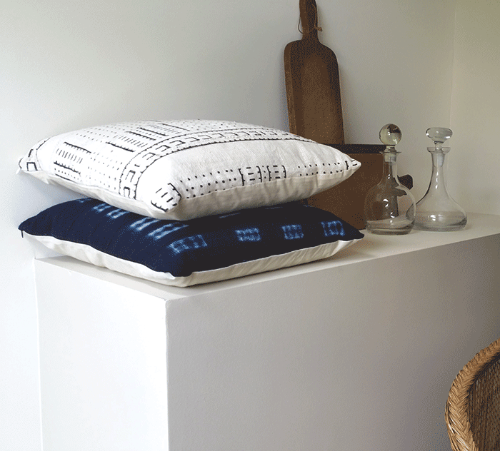 White-Mudcloth-Pillow-features-Hidden-Zipper-by-The-Estate-of-Things