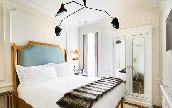 serge mouille bedroom