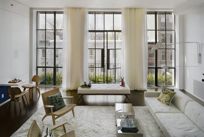 7th_street_residence_black window frames - Window Picture Frames