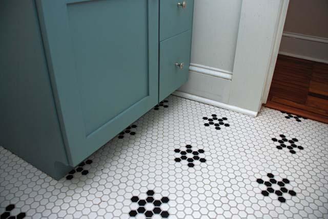 grout A tile